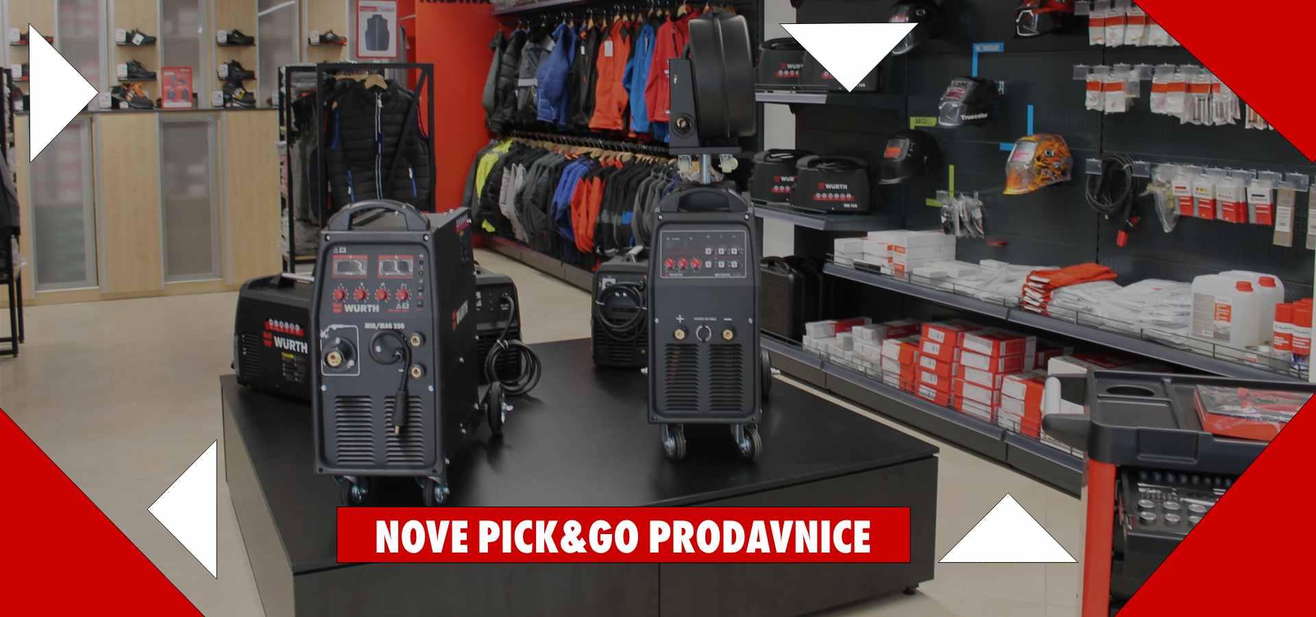 Wurth Pick and Go prodavnice